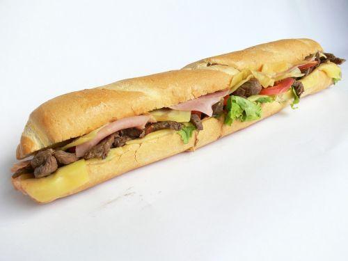 big sandwich food sandwich