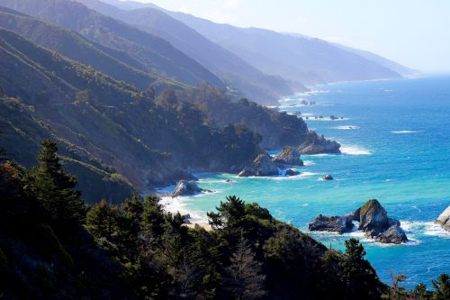 big sur california pacific