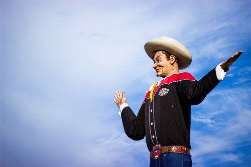 big tex  cowboy  fair