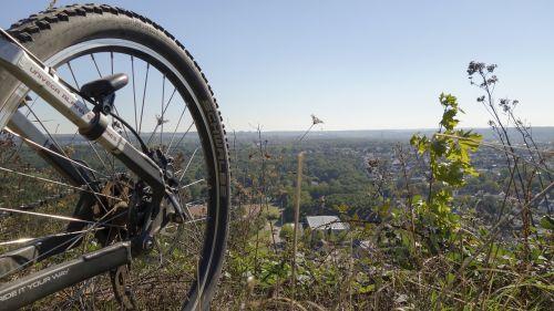 bike mature mountain bike