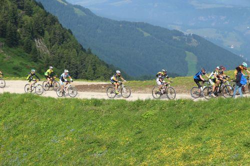 bike mountain fun