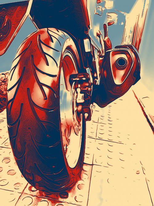 bike tire journey