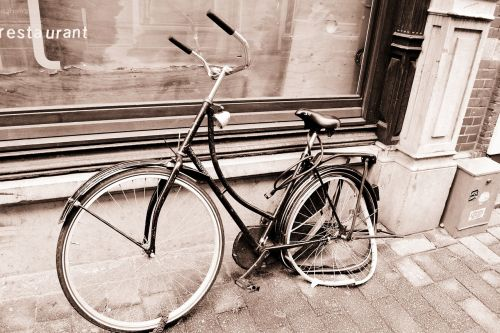 bike old broken
