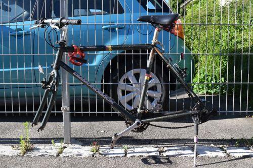 bike stolen frame