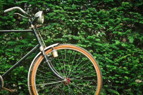 bike old wheel