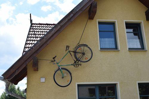 bike backup unusual
