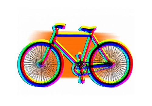 bike logo abstract