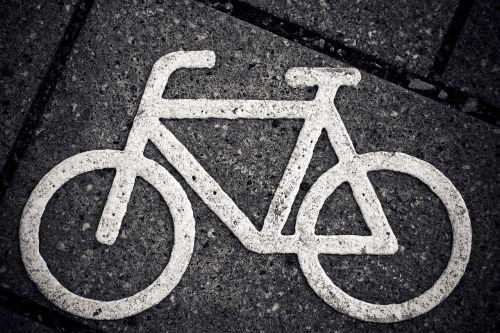 bike characters cycle path