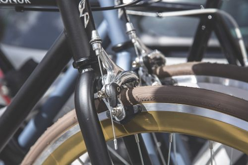bike brake chrome