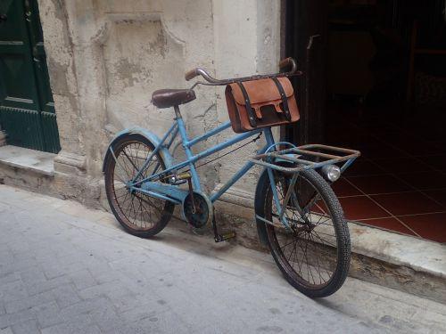 bike rustic old