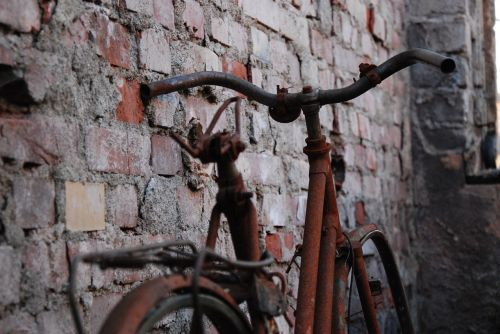 bike stainless old