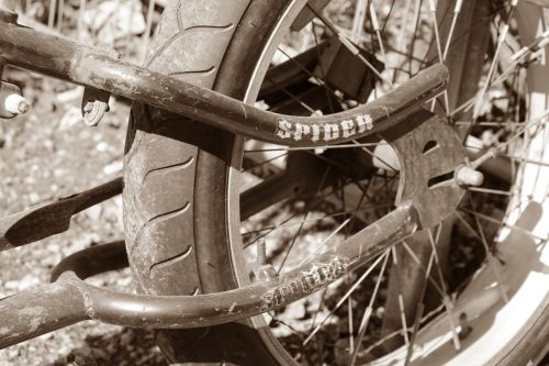 bike spokes wheel