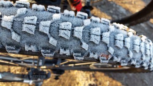bike tire frost