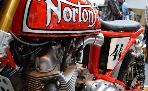 bike norton custom