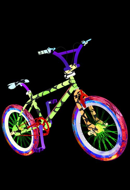 bike bmx tretmoped