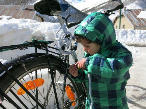 bike child bicycle