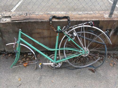 bike scrap metal scrap