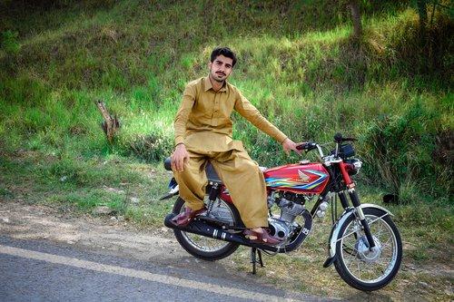 bike  wheel  seated