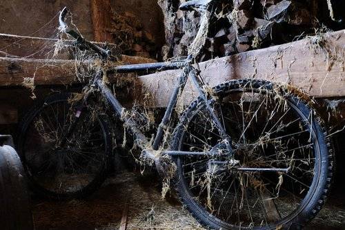 bike  old  decay
