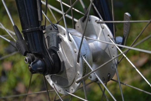bike spokes wheels