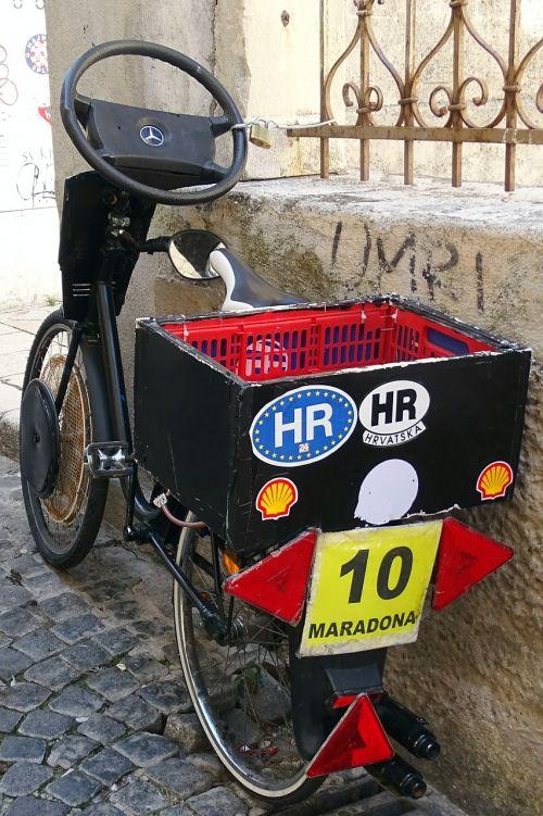 bike croatia old