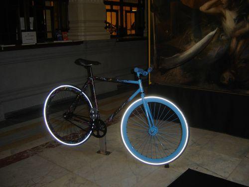 bike strange colored