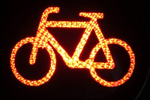 bike bike lights red