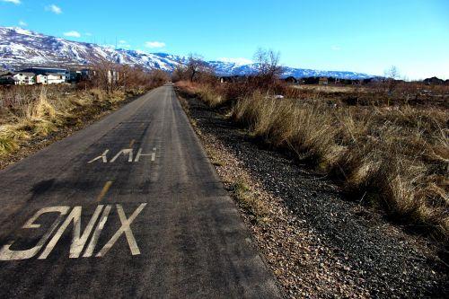bike path field bike