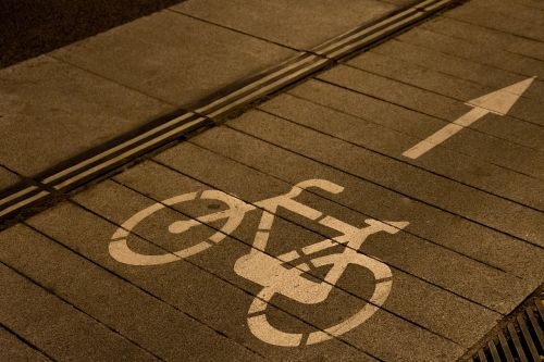 bike path lane bike