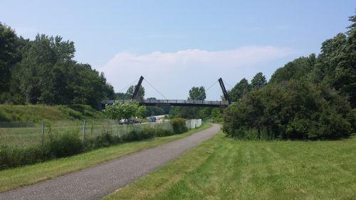 bike path bridge vermont