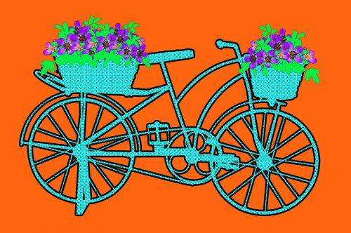 bike pop art pop art bicycle