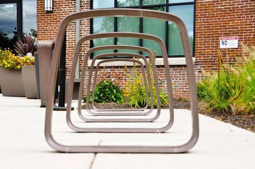bike rack perspective rack