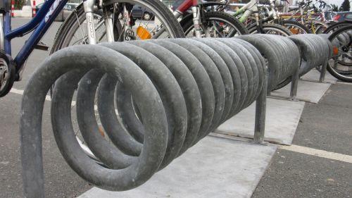 bike racks tube wrapped
