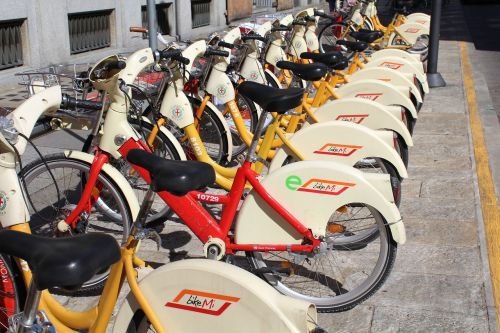 bike sharing bicycles sustainable mobility