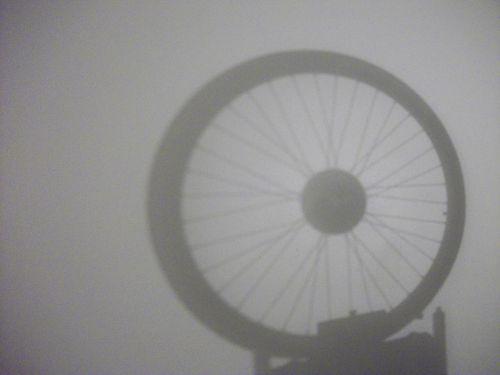 Bike Tire Shadow
