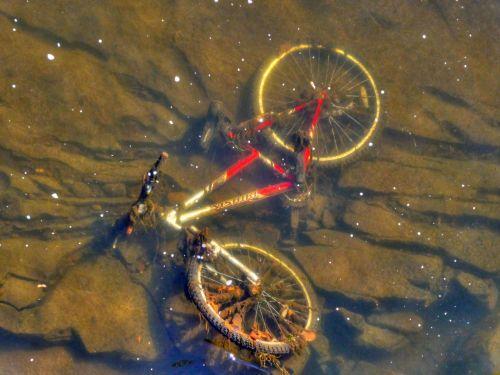 Bike Under Water