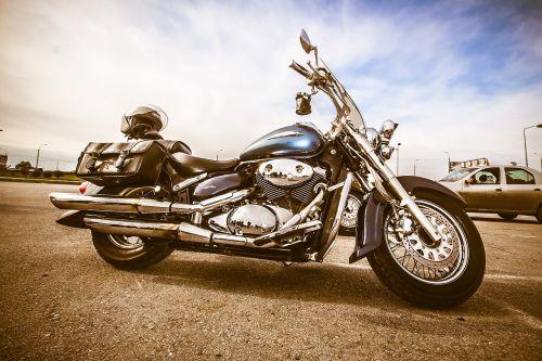 biker motorcycle heavy motorcycle