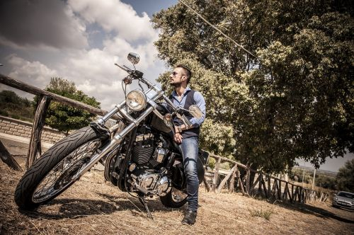 biker harley harley-davidson