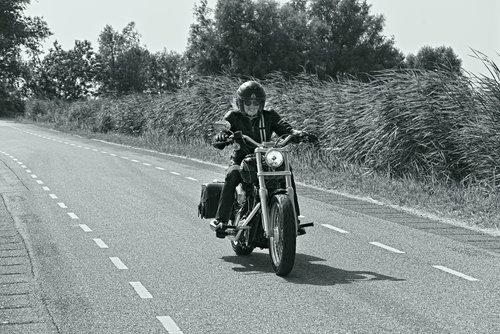 biker  woman  female biker
