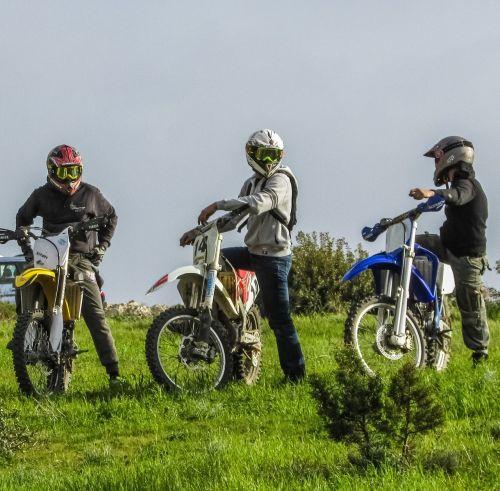 bikers motorcycle motorbike