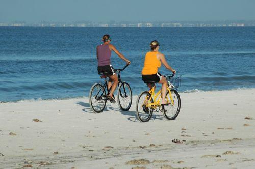 Bikers On The Beach