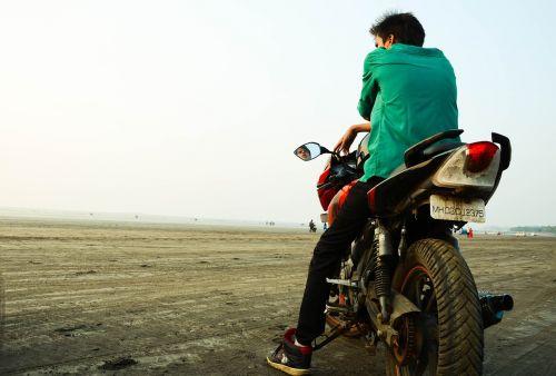 bikes beach india