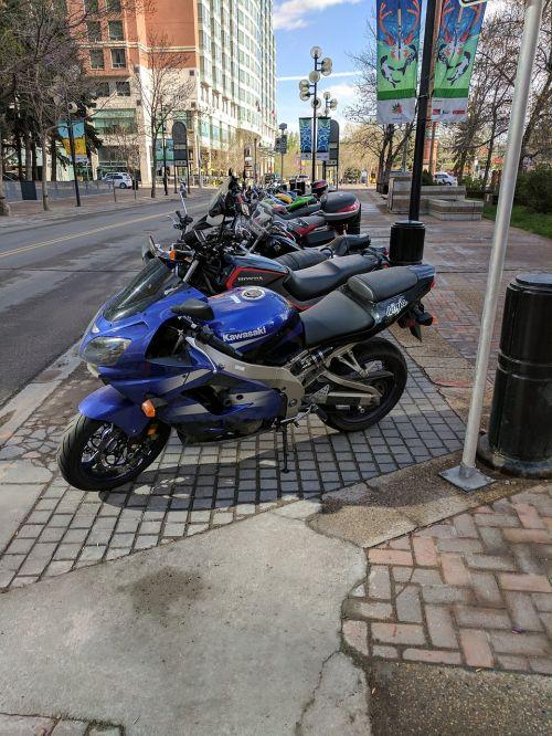 bikes summer street motor bikes