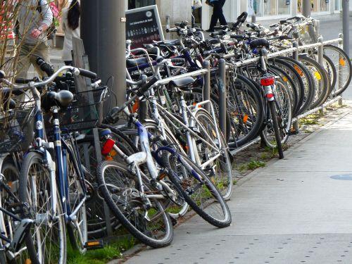 bikes build up accumulation
