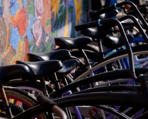Bikes And Graffiti