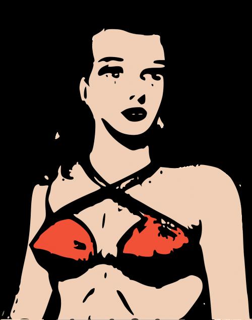 bikini female girl