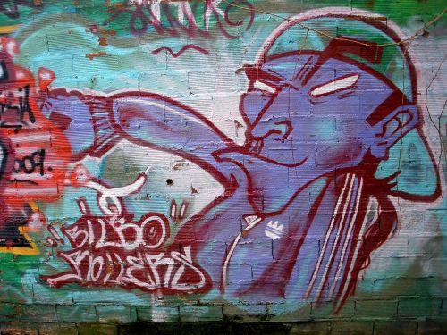 bilbao graffiti baseball