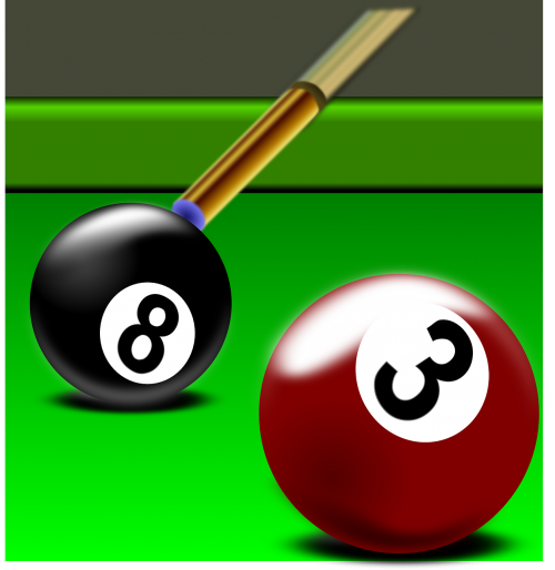 billiard pool rack