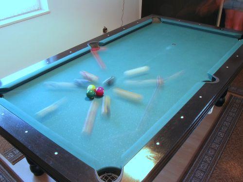 billiard table break