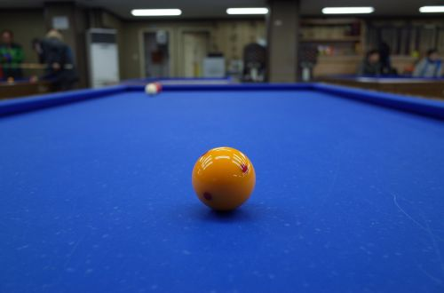 billiards billiard ball yellow